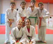 Poule de 9 DAX  belle prestation de nos judokas